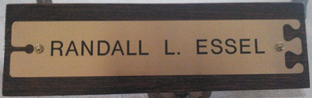 EZ Twig engraved name plate image